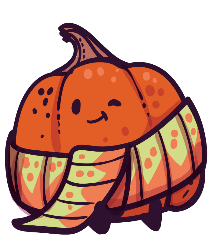 Gourdy the Pumpkin